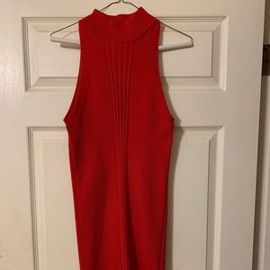 Red Stiletto Sweater Dress
